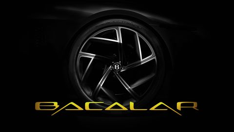Bentley Bacalar Mulliner coachbuilt teaser