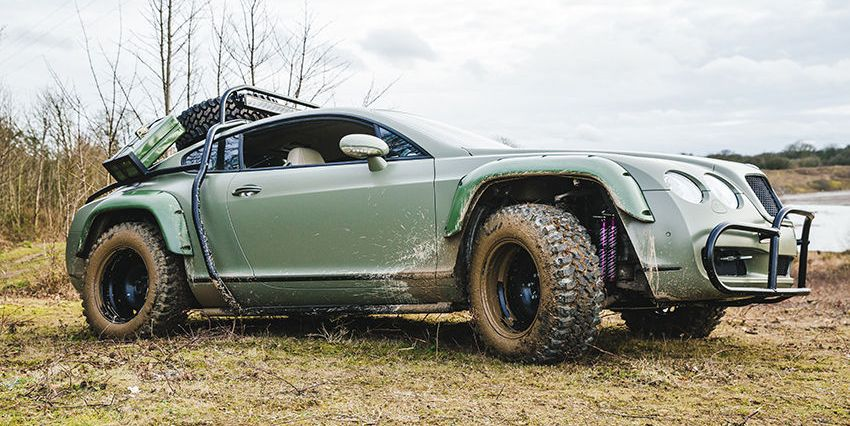 Bentley Continental GT Rally Car - Dakar-Inspired Bentley ...