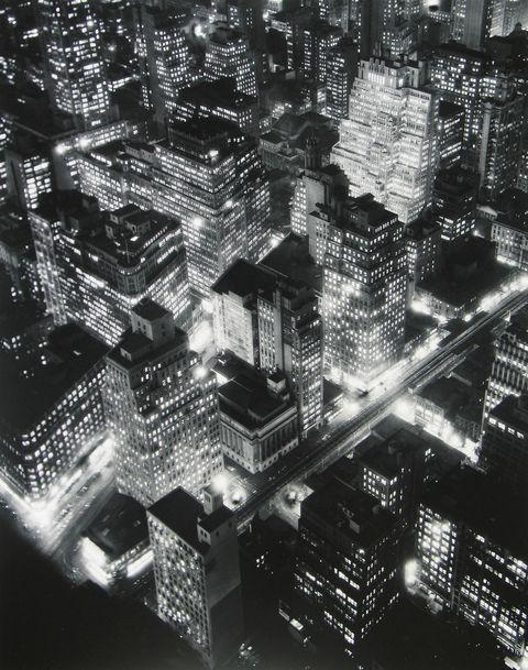 Berenice Abbott, Nightview, New York, 1932