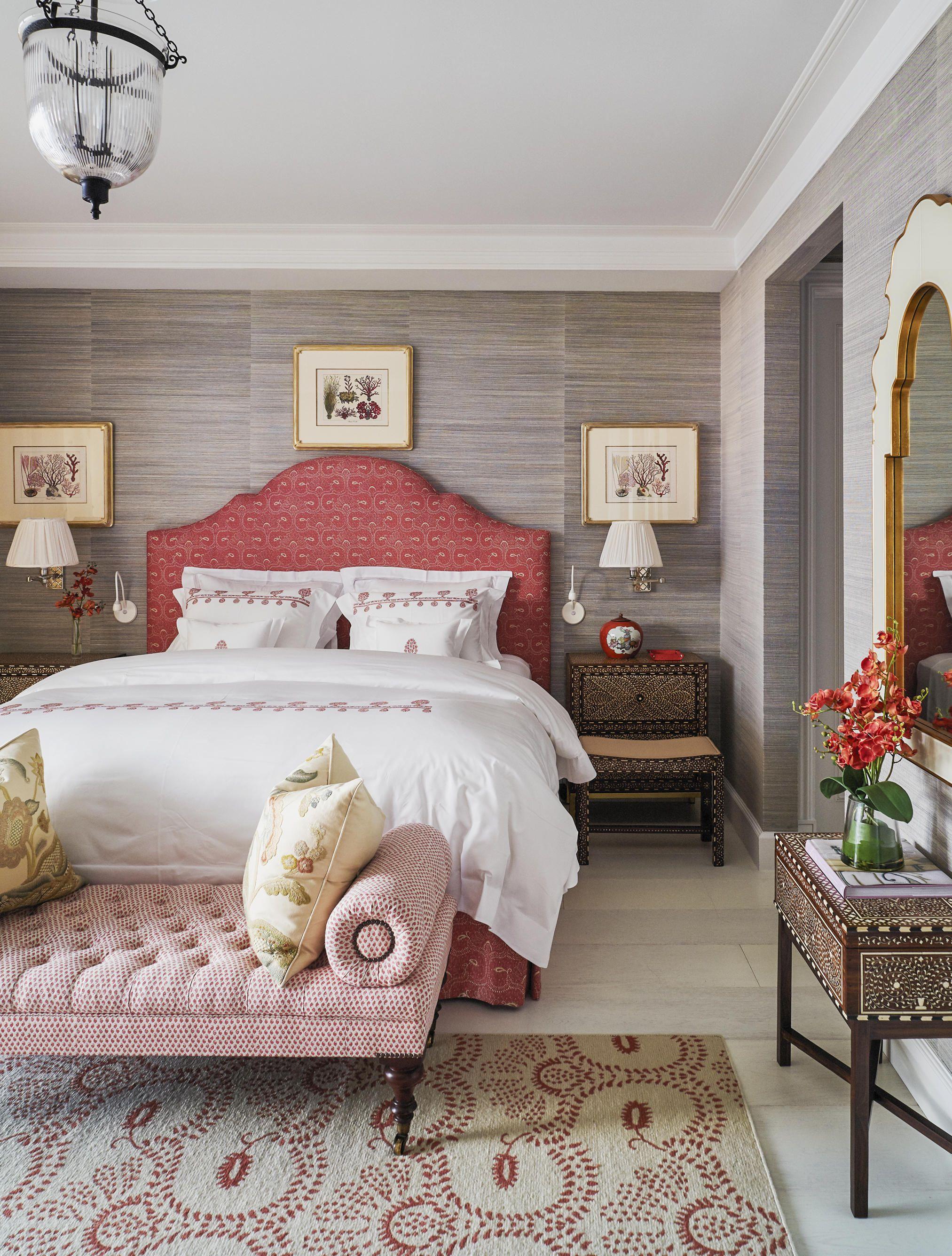 Coral bedroom ideas & 40 Best Bedroom Ideas - Beautiful Bedroom Decorating Tips