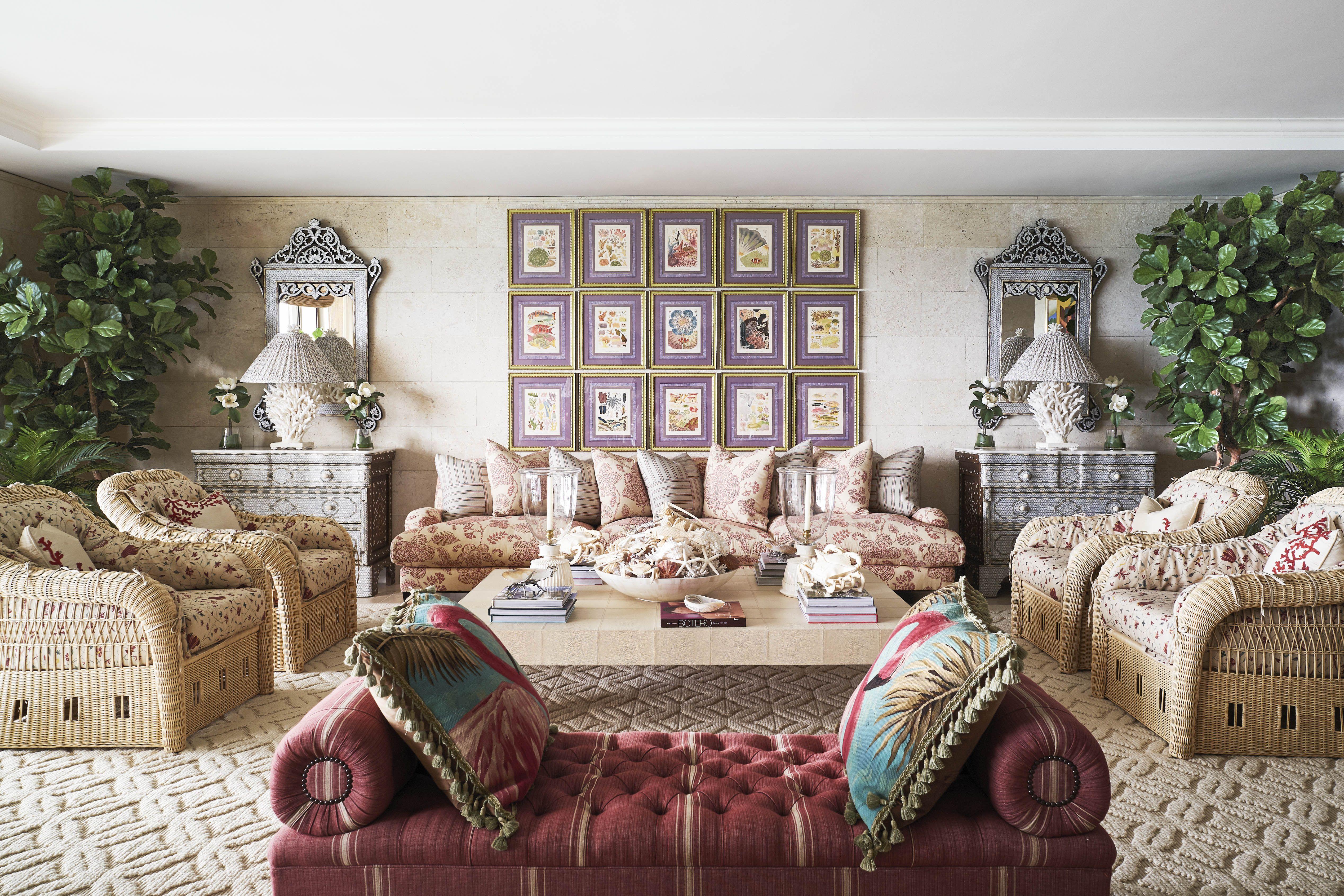 Bergamin Living Room Miami Veranda