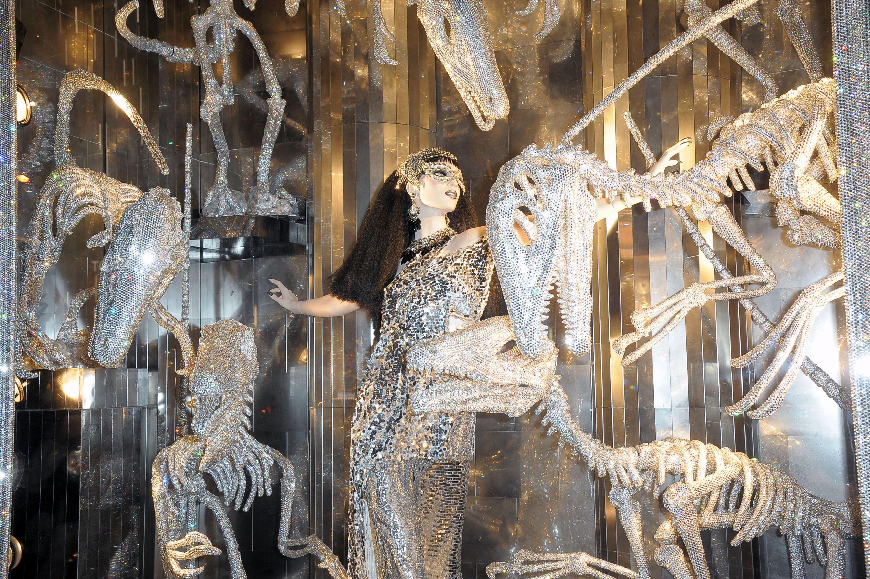 Bergdorf Goodman window display 2017