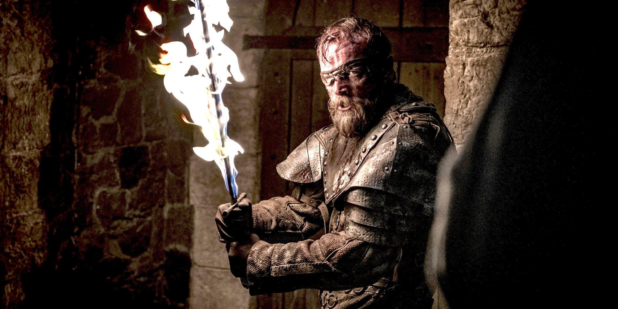 Richard Dormer as Beric Dondarrion, Game of Thrones, season 8, episode 3