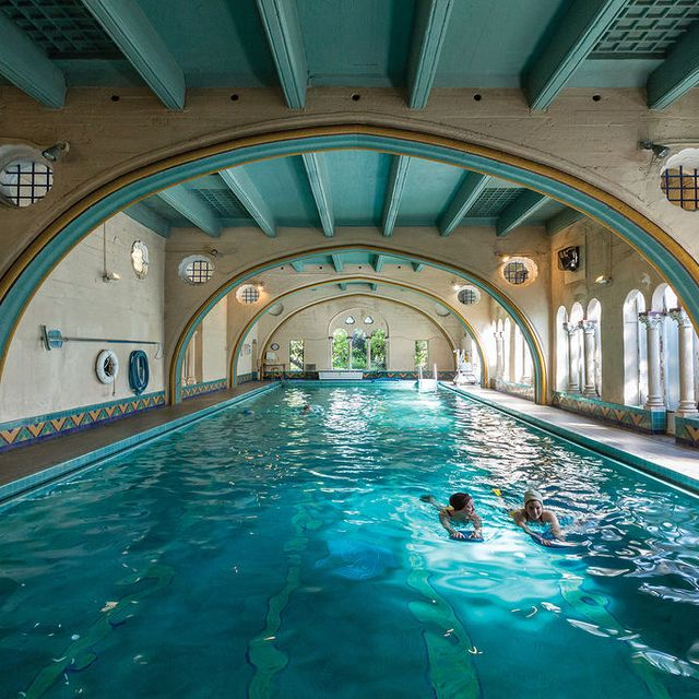 berkeley city club, pool, swim