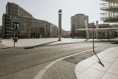 Berlin Covid19 shutdown postdamer platz