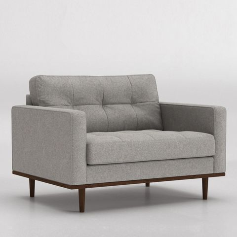 Grey love seat, Swoon at Very