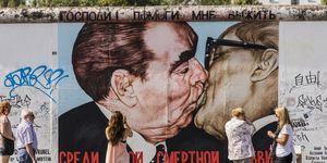 Berlin Wall East Side Gallery, murales
