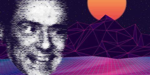 Purple, Violet, Pattern, Graphic design, Line, Design, Magenta, Graphics, Illustration, Space,