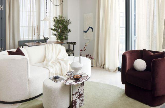 un ecléctico apartamento de lujo en londres inspirado en la edad de oro del cine