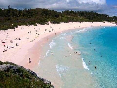 Playas de arena rosa para ver al menos una vez en la vida