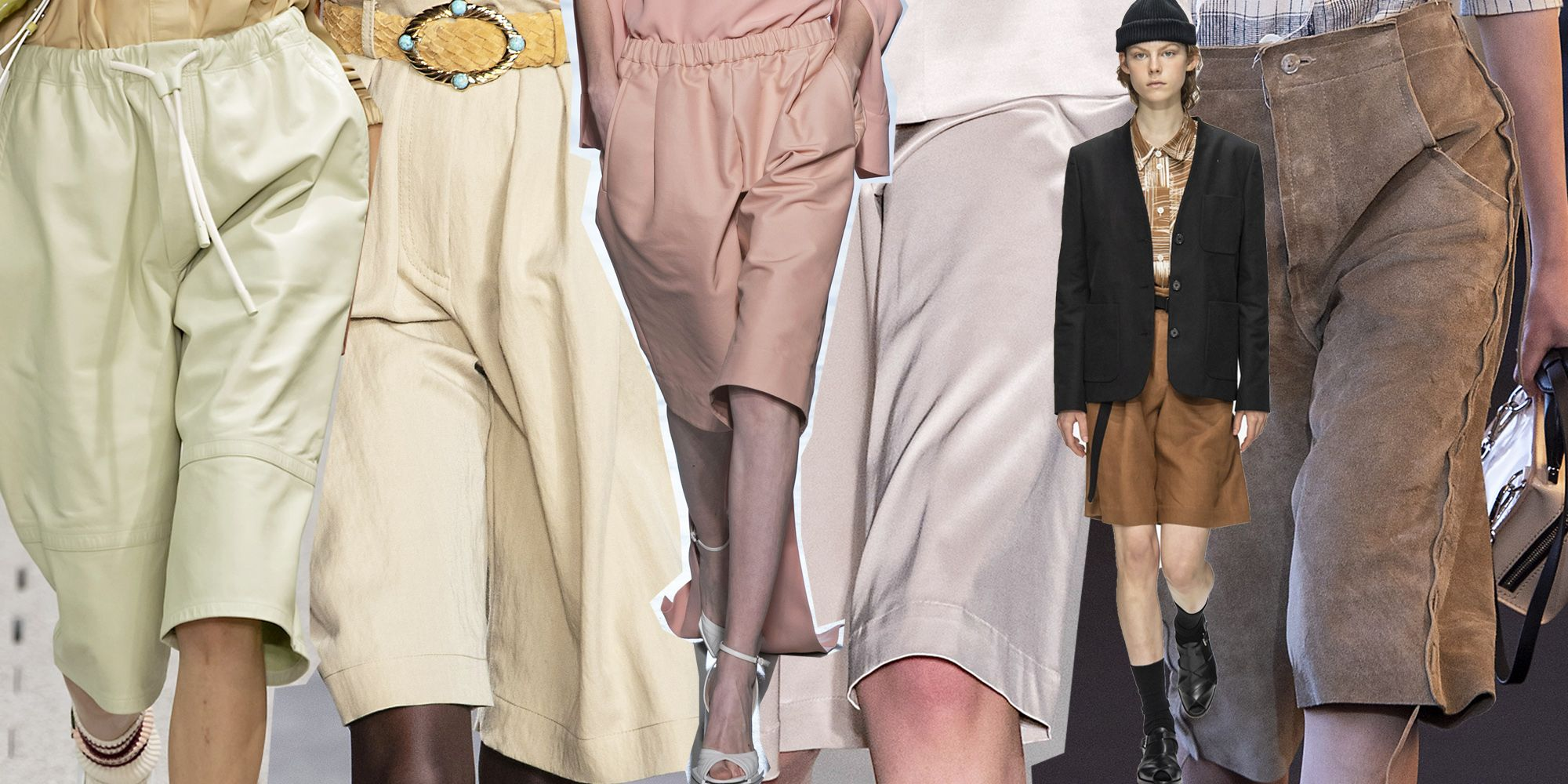 I bermuda sono i nuovi pantaloni ossessione della moda 2020 e da adesso fino a primavera (inoltrata) si portano così