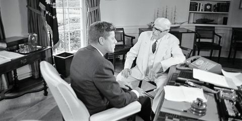 Bernard Baruch e Kennedy