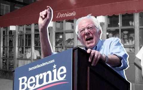 Bernie Sanders Event at Dorrian's