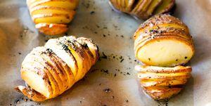 Hassleback potatoes