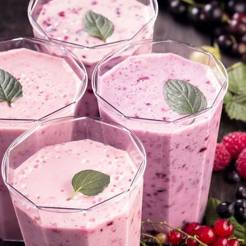 best breakfast for weight loss   berry smoothie