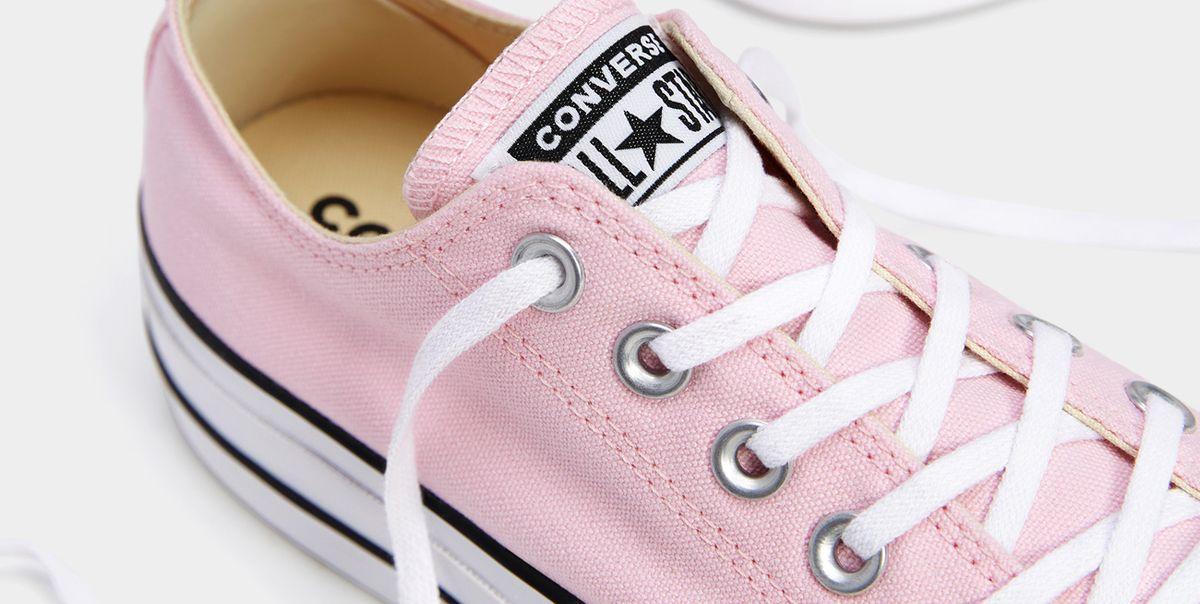 venta profesional 100% de alta calidad moda mejor valorada Las Converse de plataforma rosas que lo van a petar este ...