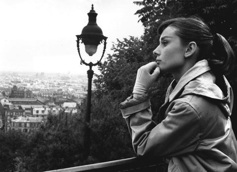 Audrey Hepburn,Bert Hardy, Parigi