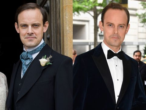 Downton Abbey Cast Real Life
