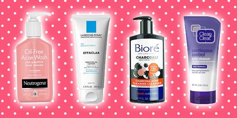 8 Best Face Washes For Acne Drugstore Acne Cleansers