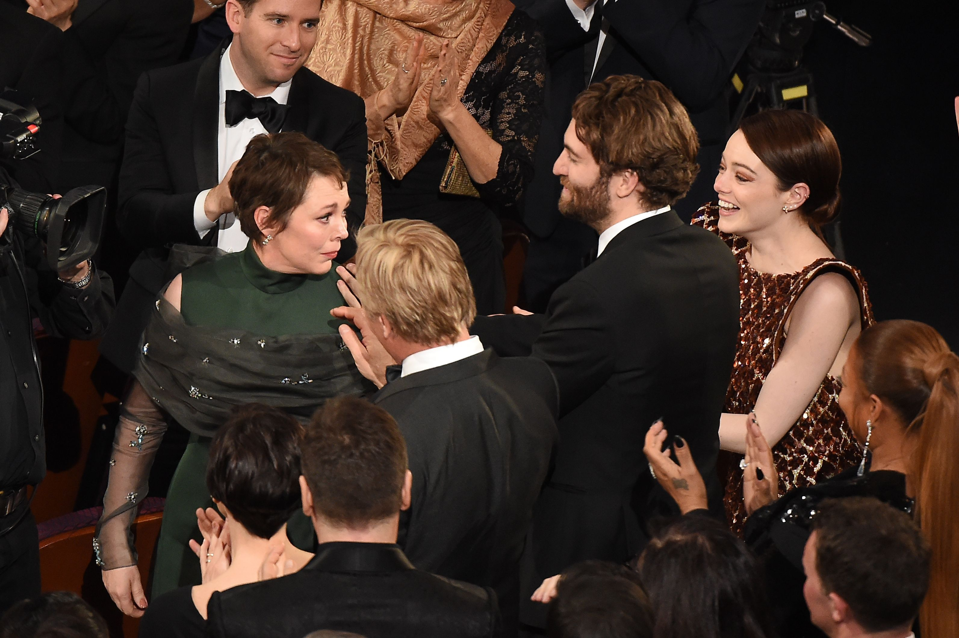 Emma Stone Was Touchingly Supportive of Women at the 2019 Oscars