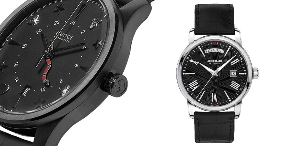 best all-black men's watches