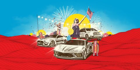most american cars built today