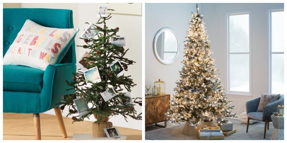 15 Artificial Christmas Trees That Look Even Better Than the Real Deal