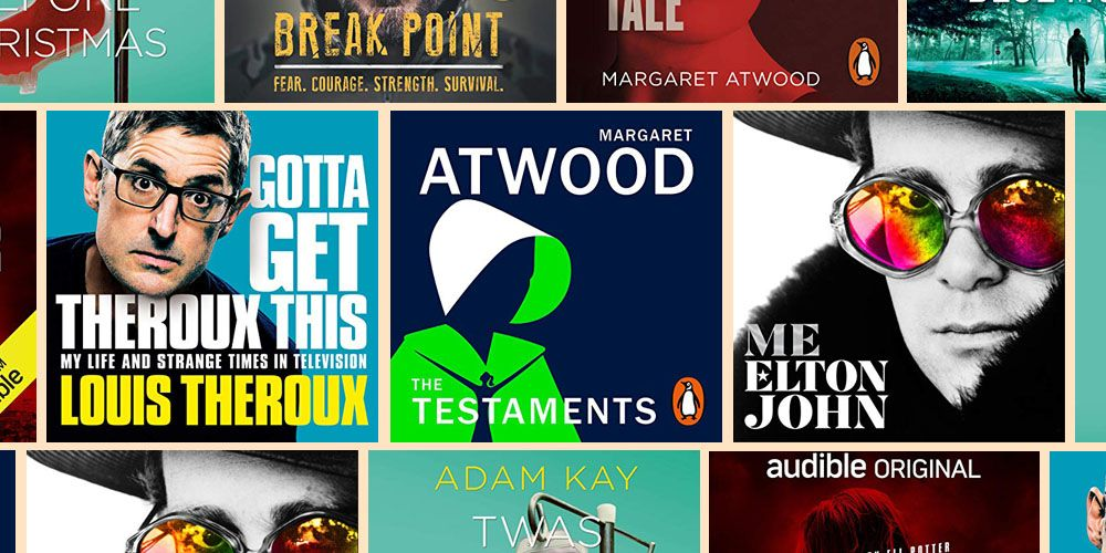 The 20 most popular audiobooks of 2019