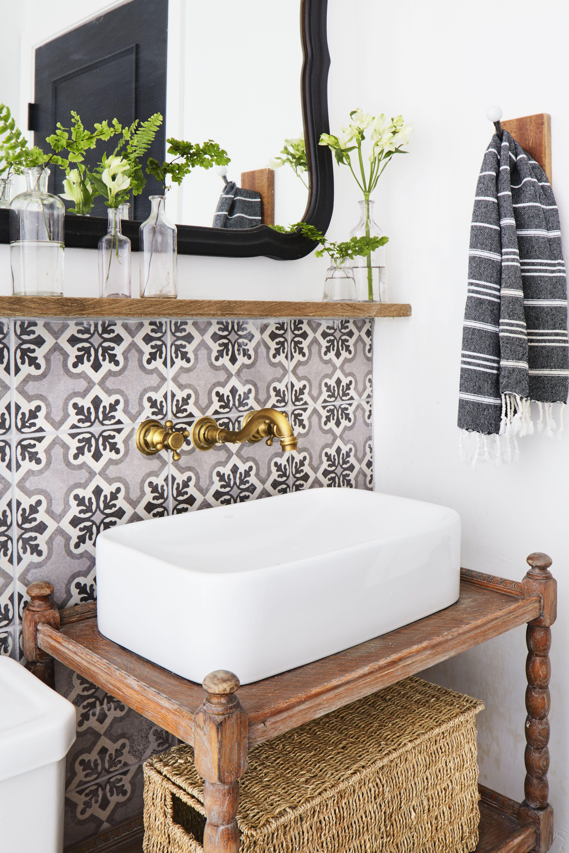 15 Best Bathroom Countertop Ideas, Small Bathroom Countertops