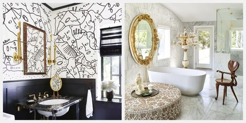 85 Best Bathroom Design Ideas - Small & Large Bathroom ... Inspiring Ideas For Small Bathroom Design on design ideas for wooden letters, design ideas for closets, design ideas for wet bars, design ideas for small home, design ideas for living rooms, design ideas for small bedrooms, design ideas for small kitchens, design ideas for small basements, design ideas for small porches, design ideas for small windows, design ideas for small yards, design ideas for kitchen cabinets, design ideas for small decks, design ideas for small offices,