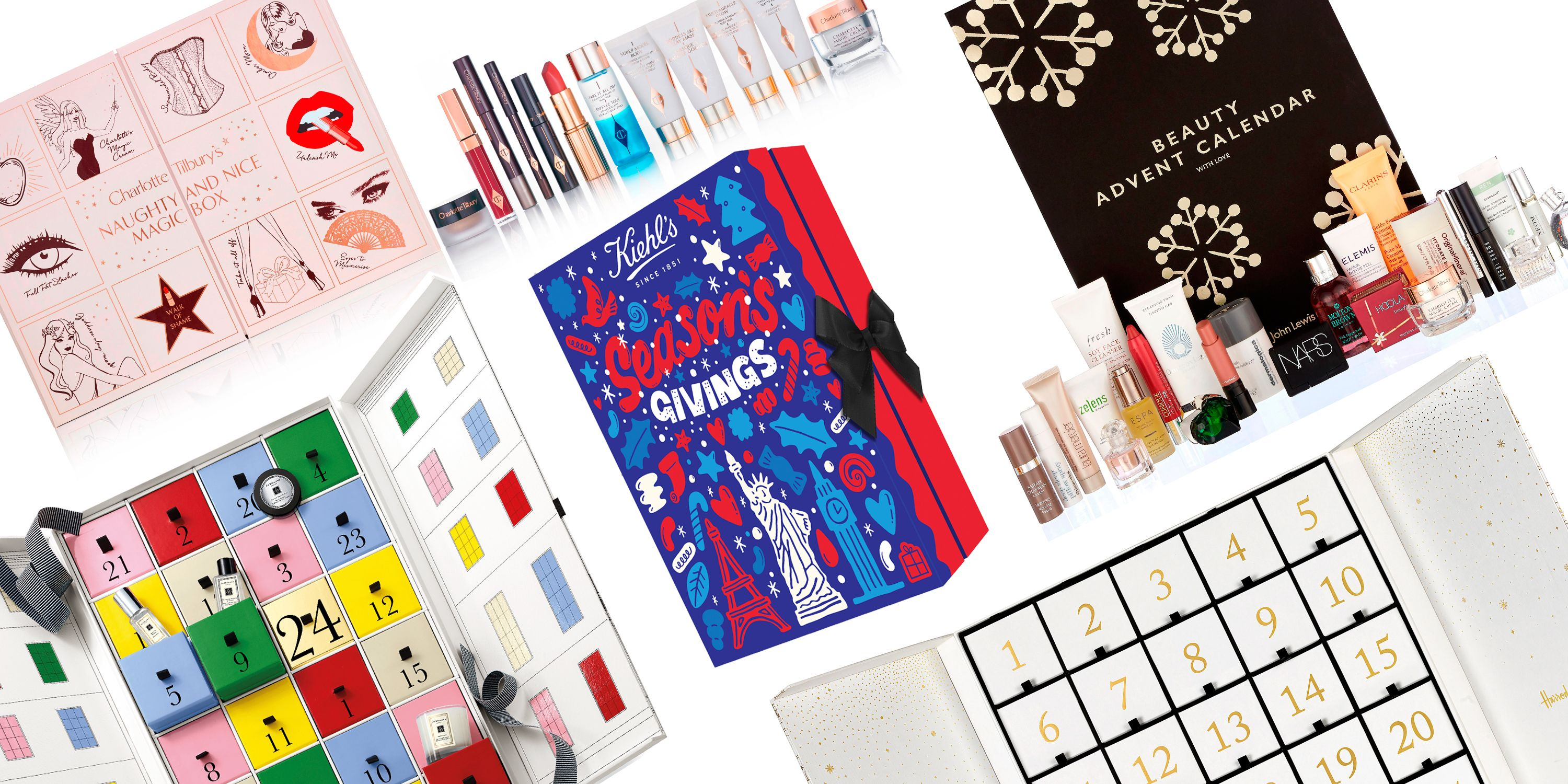 Beauty Advent Calendars 2018 - ALL the best, from Benefit, Charlotte  Tilbury & Soap & Glory