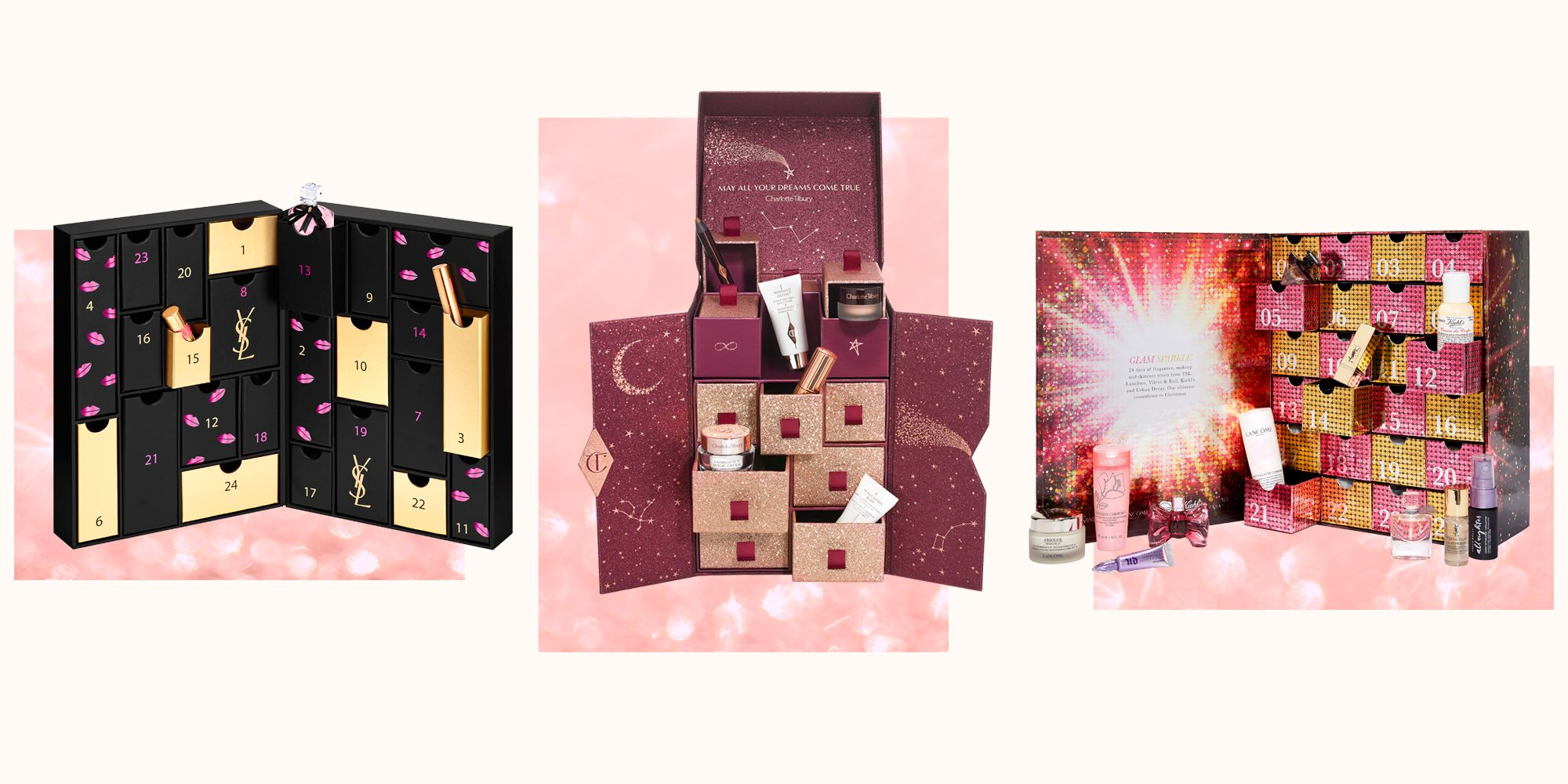 9acd521254bb Best beauty advent calendars for 2019 - From Charlotte Tilbury to Jo Malone