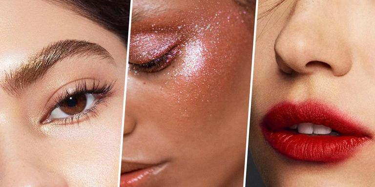 Spring 2017 Beauty Trend Report How To Wear Glitter: Hair And Makeup Trends For 2017