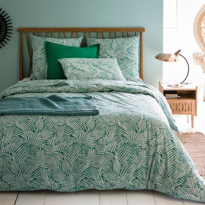Serenity Green Cotton Rich Duvet Set
