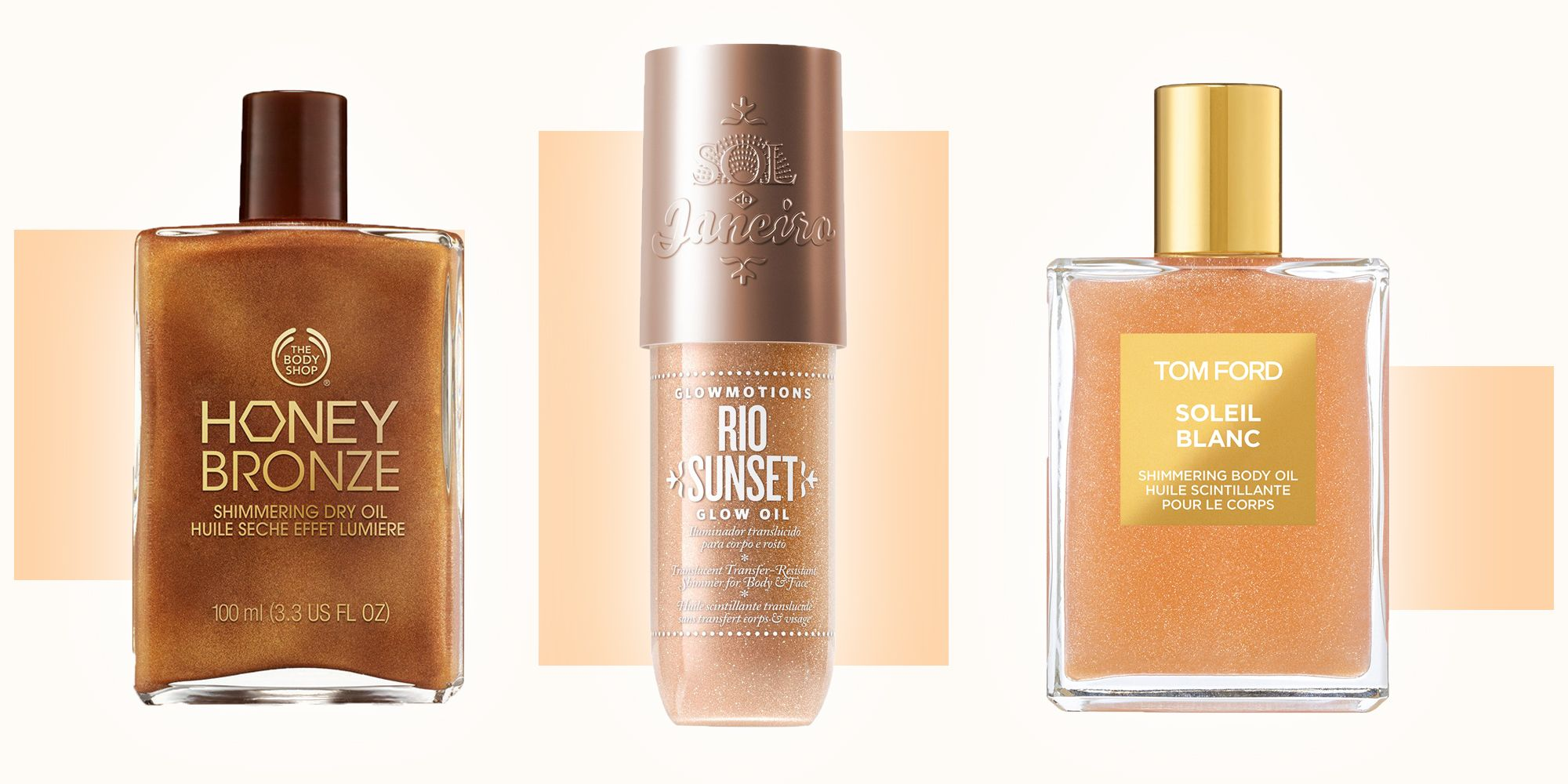 Body Oil 7 Shimmering Formulas For An Instant Glow Up