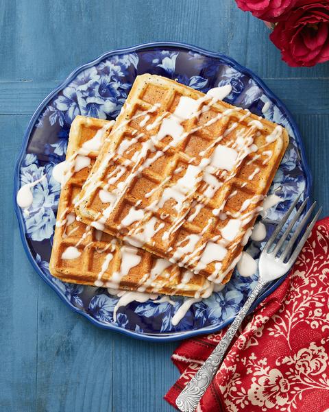 best breakfast in bed recipes lemon poppy seed waffles