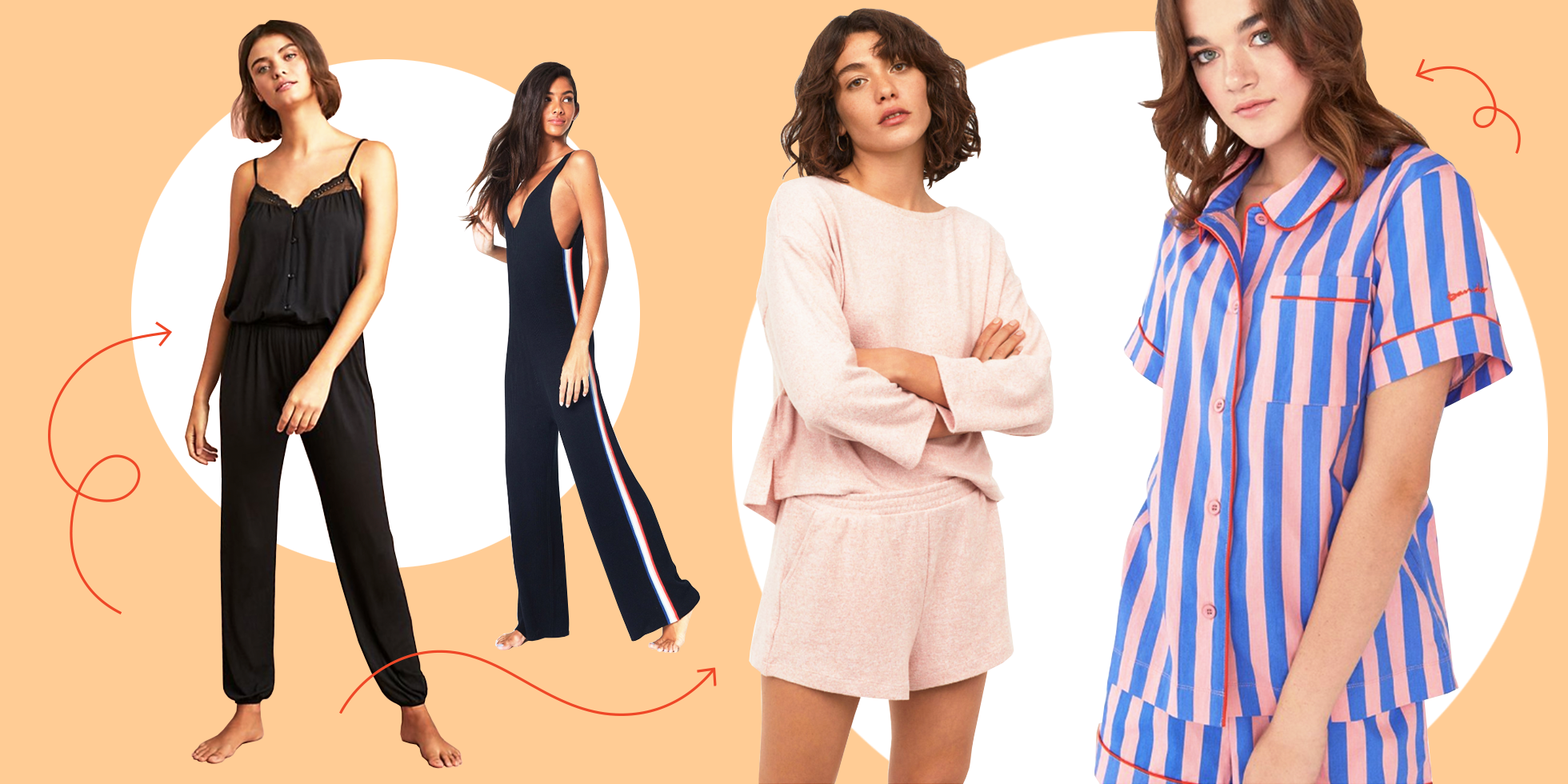 344372e947 These Are the Best Pajamas to Buy Your Bridesmaids if You're Over Floral  Robes