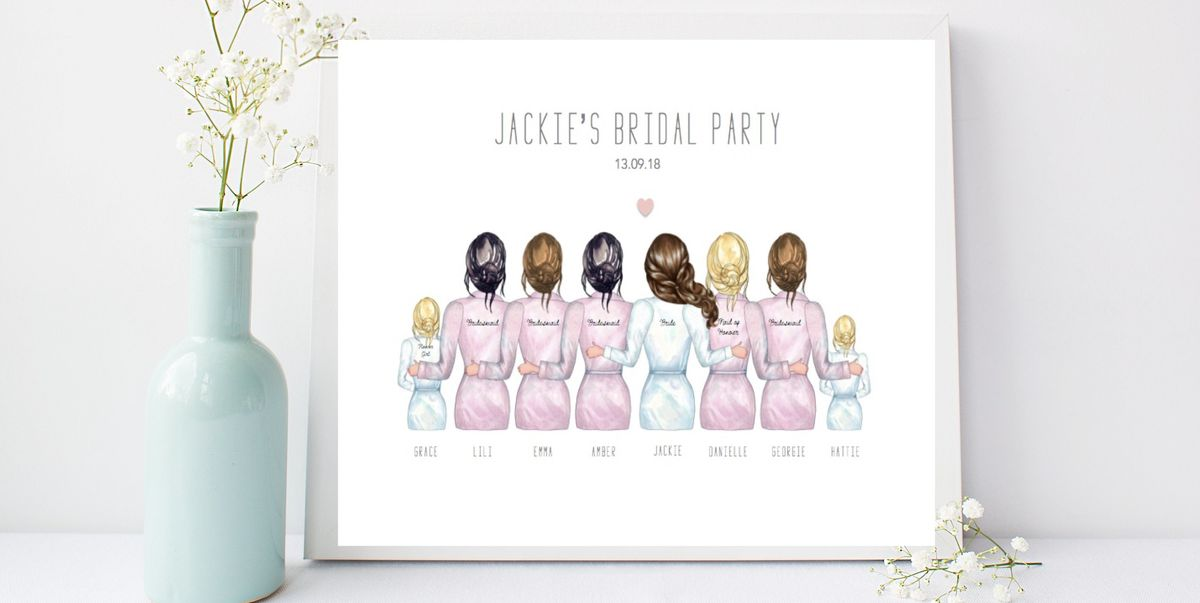 20 Unique Bridesmaid Gift Ideas Best Gifts For Bridesmaids Ever