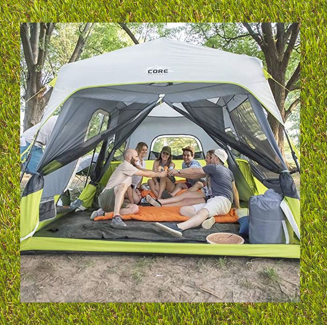 best camping tents core 9 person instant cabin tent coleman octagon 98 8 person outdoor tent