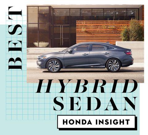 best car awards best hybrid sedan   honda insight