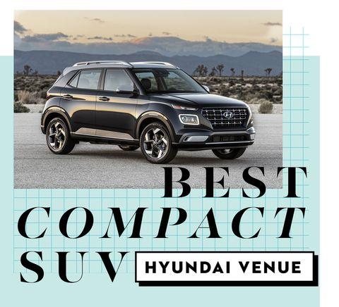best car awards best compact suv   hyundai venue