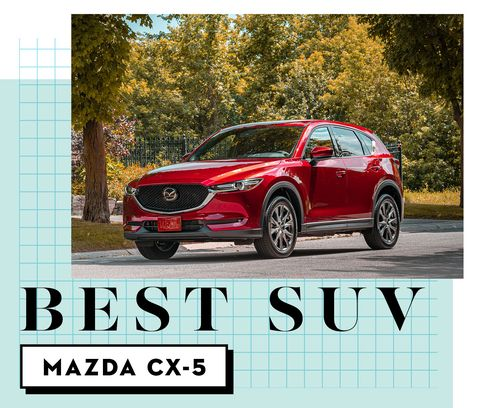 best car awards best suv   mazda cx 5