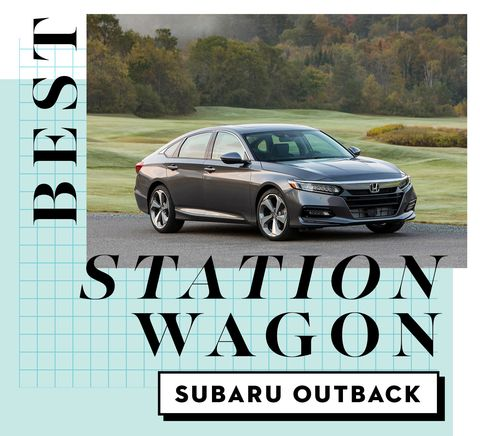best car awards best station wagon   subaru outback