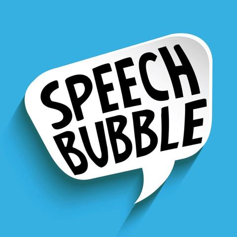 Best Celebrity Podcasts Speech Bubble