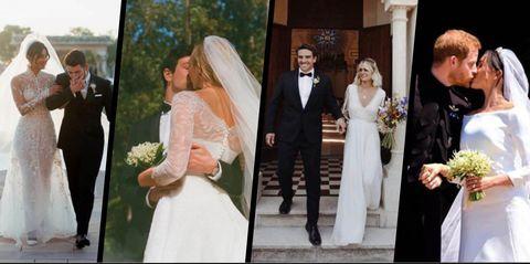 10 of the biggest weddings of 2018