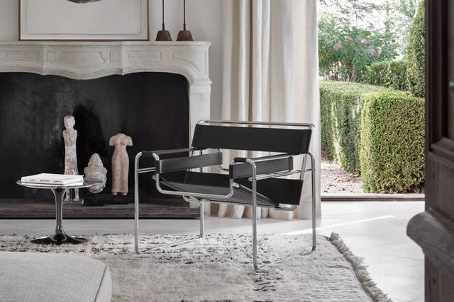 wassily chair lifestyle shot