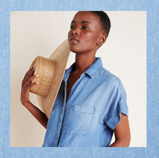best chambray shirts for women hm anthropologie