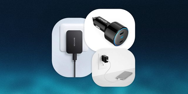 black wall chargers by amazonbasics, anker and ravpower