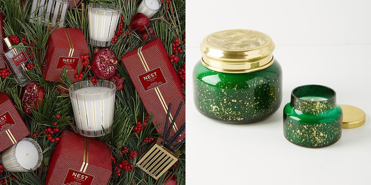 Christmas Candles.These Festive Christmas Candles Smell Exactly Like The Holidays