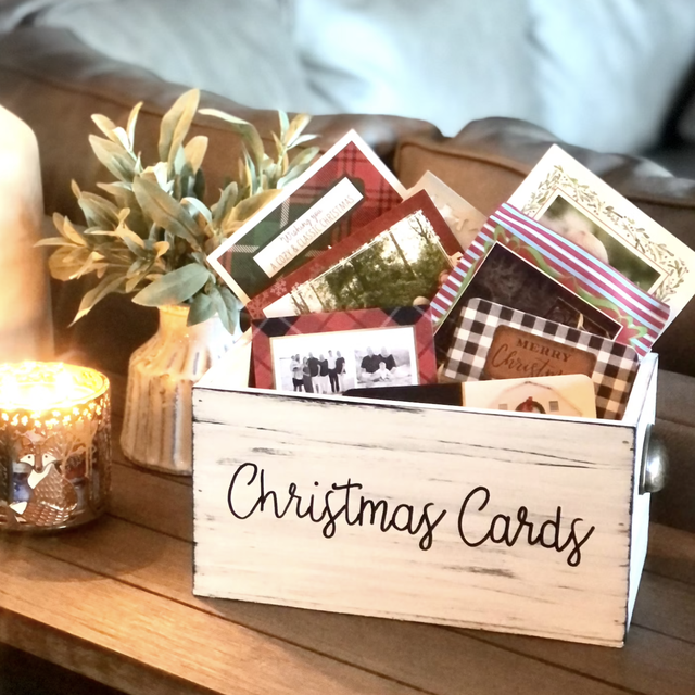 best christmas card holders and display ideas